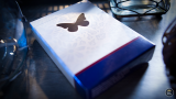 Butterfly Playing Cards BLUE by Ondrej Psenicka