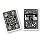 Tally-Ho - Fan Back BLACK