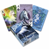 Bicycle - Anne Stoke Unicorns Playing Cards