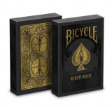 Bicycle - Black and Gold Rider Back