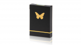 Butterfly Playing Cards Marked (Black and Gold)