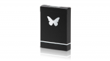 Butterfly Playing Cards Marked (Black and Silver)