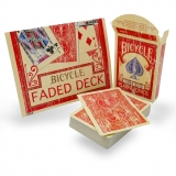 Bicycle -  Fader Deck Red