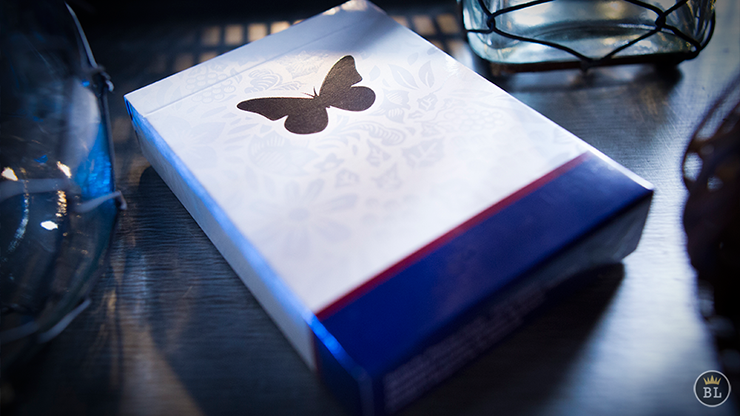 Butterfly Playing Cards BLUE - REFILLS