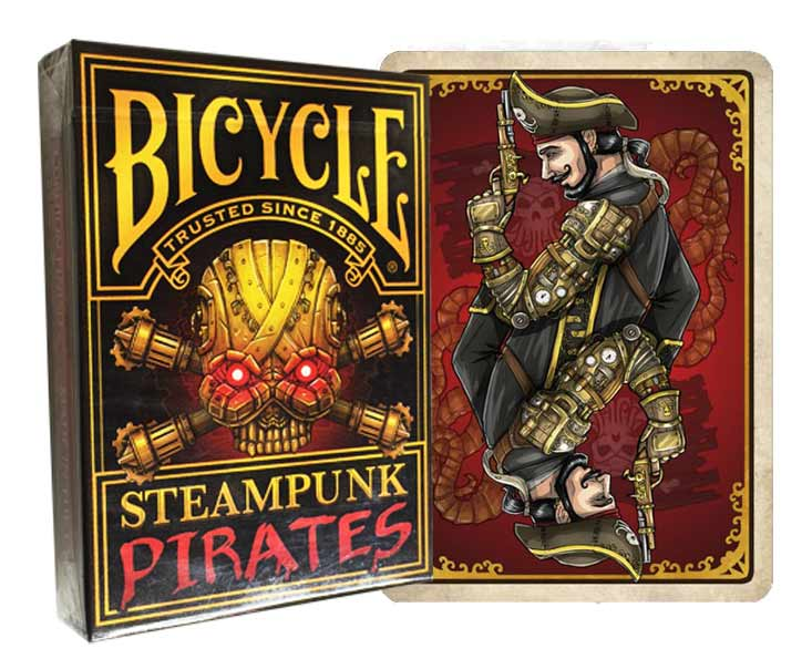 Bicycle Steampunk Pirates Deck