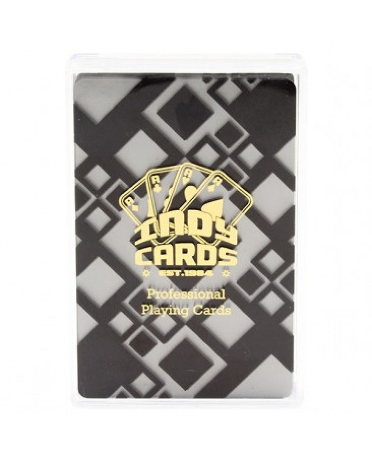 Indy Clear Plastic Cards - A