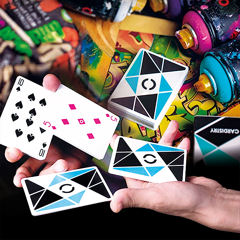 Cardistry Playing Cards-  Turquoise