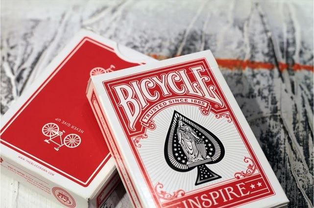 Bicycle - Inspire - Red deck