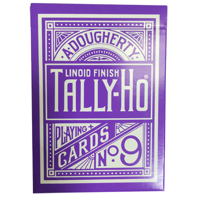 Tally Ho Reverse Circle back (Purple)