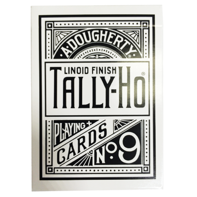 Tally Ho Reverse Circle back (White)