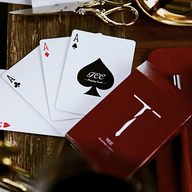Sword T (Red) Playing Cards