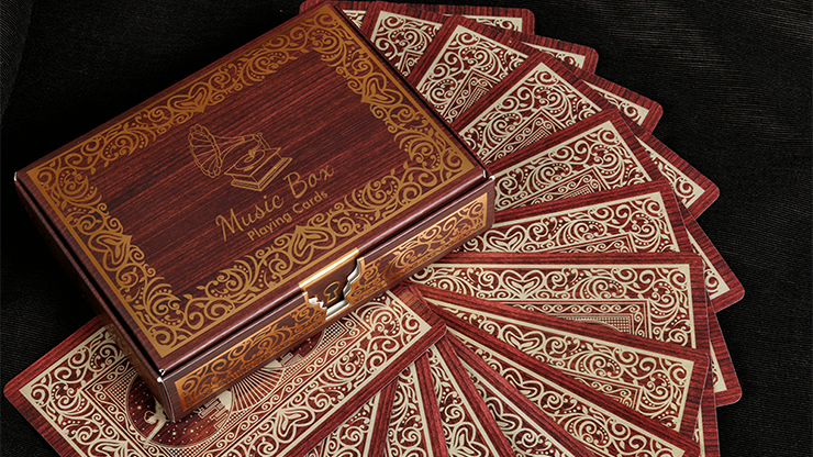 Music Box Playing cards