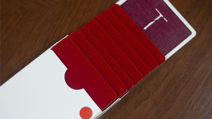 Pure Cardistry (Red) Training Playing Cards