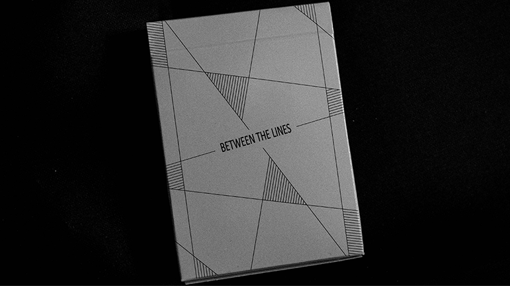 Between the Lines Playing Card