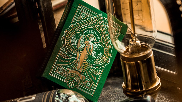 Tycoon Playing Cards (Green)