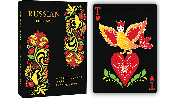 Russian Folk Art Limited Edition (Black)