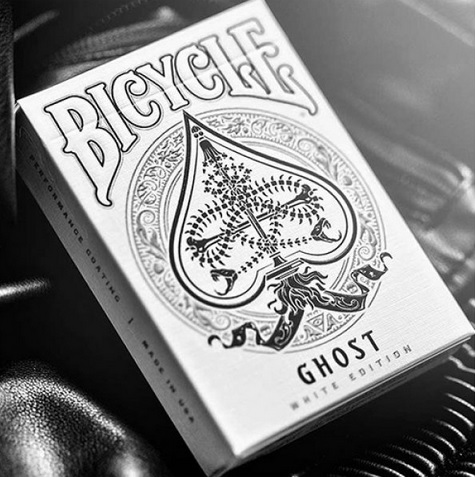 Bicycle Ghost -  Legacy Edition (White)