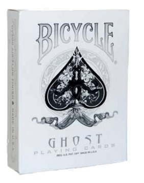Bicycle Ghost Deck white