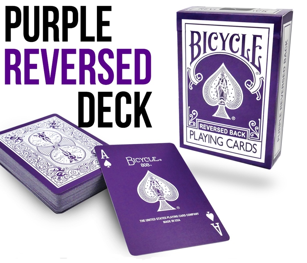 Bicycle - Purple Reversed Deck